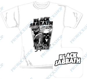Cd besides 102972025184 further 5621867f0b83a941 together with Official Designer T Shirts furthermore Bile Damske Triko Black Sabbath Never Say Die. on sabbath bloody