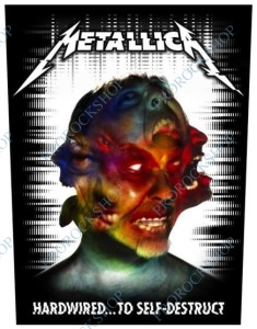 nášivka na záda Metallica - Hardwired To Self Destruct