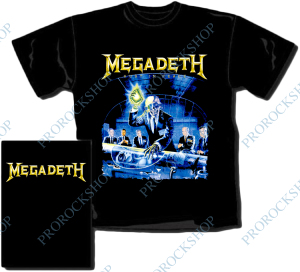 triko Megadeth - Rust In Peace I