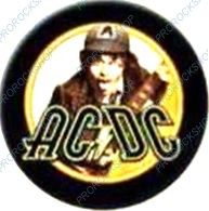 placka, button AC/DC - High Voltage Angus