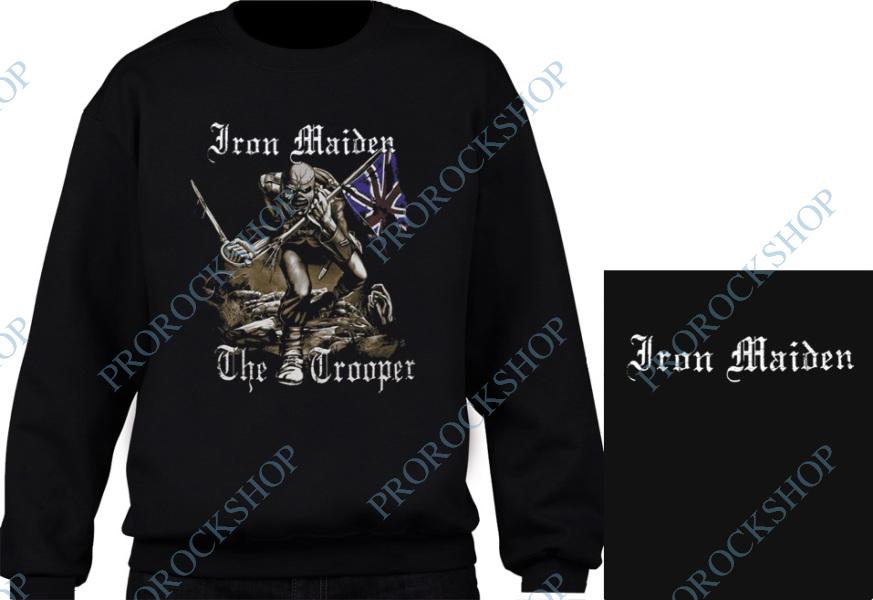 mikina bez kapuce Iron Maiden - The Trooper - ProRockShop a08e24c521b