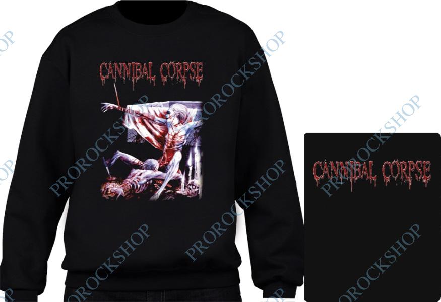 25ca898981b mikina bez kapuce Cannibal Corpse - Tomb Of The Mutilated - ProRockShop