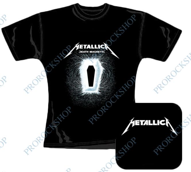 9b5ed13aa1f5 dámské triko Metallica - Death Magnetic III - ProRockShop