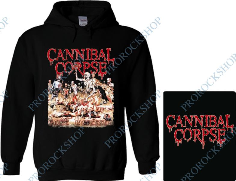 07077d36af2 mikina s kapucí Cannibal Corpse - Gore Obsessed - ProRockShop