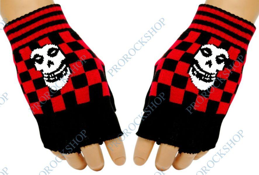 pletené rukavice bez prstů Misfits - ProRockShop 8008005585