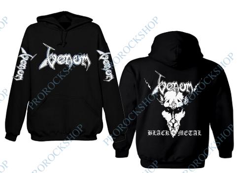 7b8a3878934 mikina s kapucí Venom - Black Metal - ProRockShop