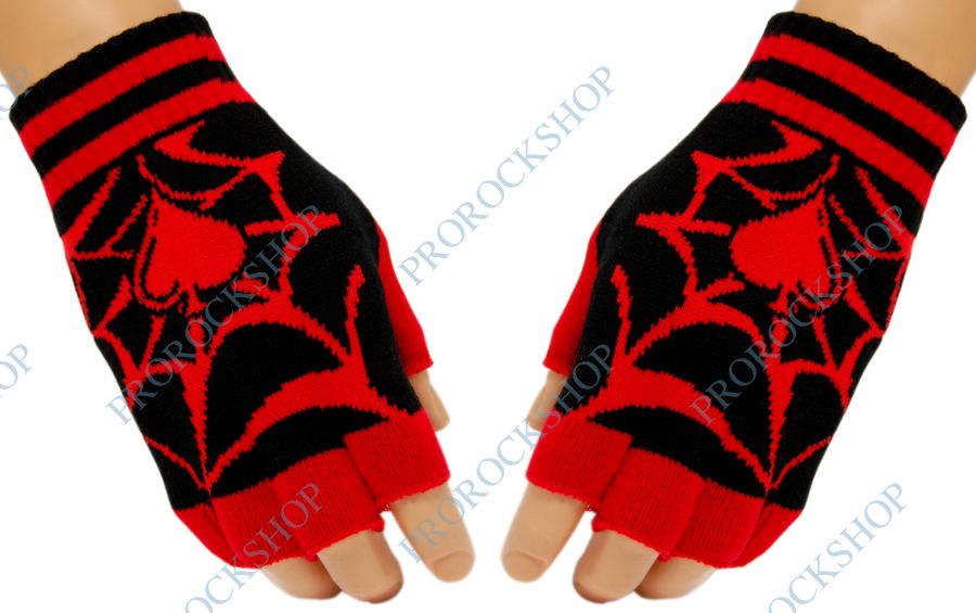 pletené rukavice bez prstů pika - ProRockShop 9d3a8b1fd6