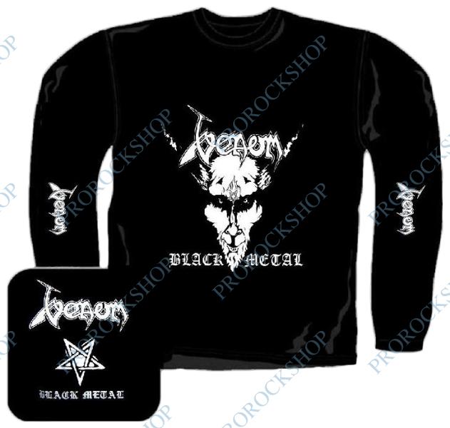 triko s dlouhým rukávem Venom - Black Metal - ProRockShop 05492d87c7