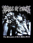 nášivka na záda, zádovka Cradle Of Filth - The Principle Of Evil Made Flesh