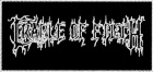 nášivka Cradle Of Filth - logo