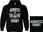 mikina s kapucí Agnostic Front - Something s Gotta Give