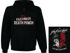 mikina s kapucí a zipem Five Finger Death Punch - Jekyl And Hyde