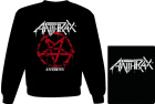 mikina bez kapuce Anthrax - Anthems