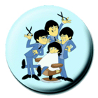 placka, button The Beatles III