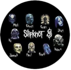 placka, button Slipknot - band