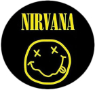placka / button Nirvana