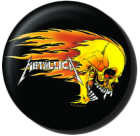 placka, button Metallica