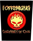 nášivka na záda, zádovka The Offspring - Conspirancy Of One