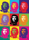 pohled Che Guevara - multicolor