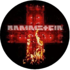 placka, button Rammstein