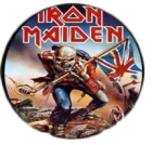 placka, button Iron Maiden - The Trooper