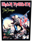 nášivka na záda, zádovka Iron Maiden - The Trooper