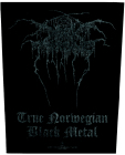nášivka na záda, zádovka Dark Throne - True Norweigan Black Metal