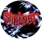 placka / button Slipknot - red